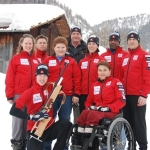 Canadian National Para-Nordic Team (Training Switzerland)