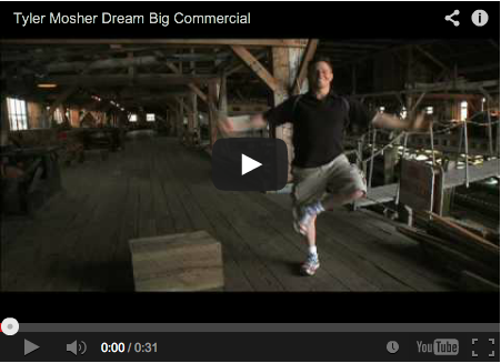 Tyler Mosher - Dream Big Commercial